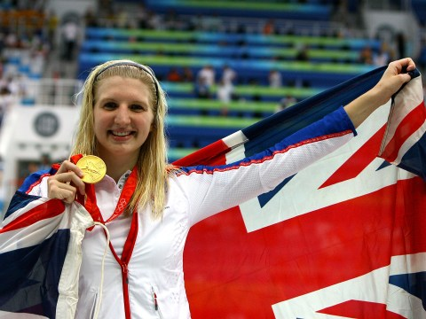 Exclusive: Being a mum is better than winning Olympic gold, says Rebecca Adlington