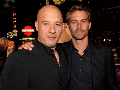 Vin Diesel just posted a really touching tribute to his late co-star Paul Walker