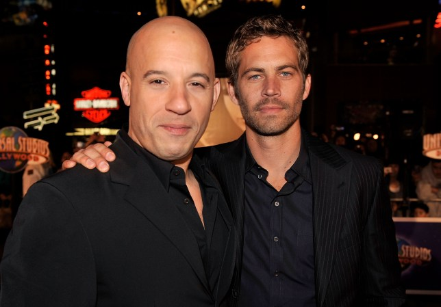 Vin Diesel and Paul Walker were close friends (Picture: Getty Images)