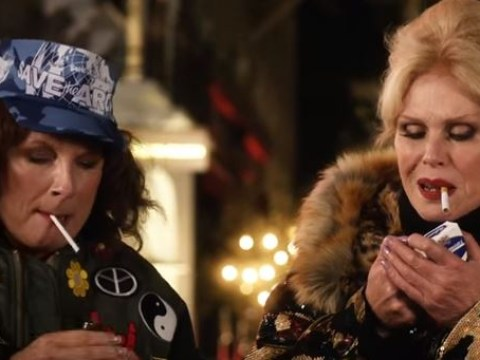 Absolutely Fabulous trailer sees Edina and Patsy on the run for the murder of Kate Moss