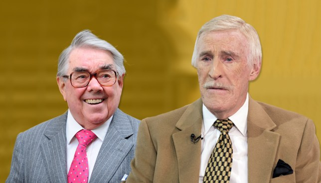 Sir Bruce Forsyth 'too ill' to attend Ronnie Corbett's funeral Credit: REX/Getty Images