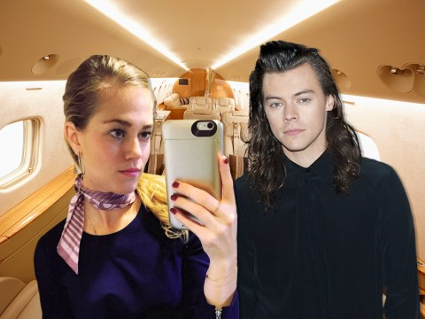 Harry Styles 'dumped air hostess girlfriend' after fans threatened to leak details of romance