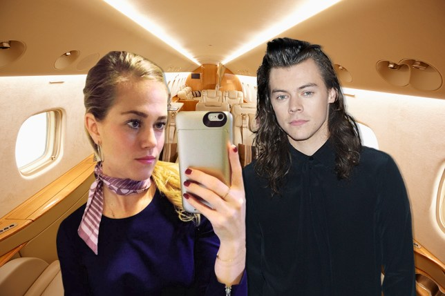 Harry Styles dated air hostess Credit: Getty Images/Instagram/Metro