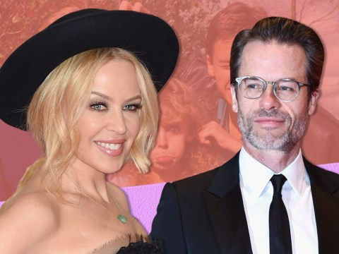 Former Neighbours Kylie Minogue and Guy Pearce reunite for new film