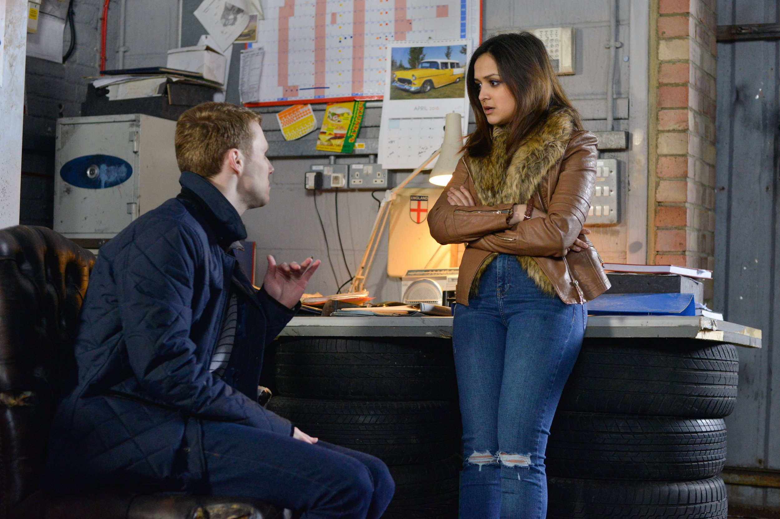 EastEnders spoilers: Louise Mitchell tries to wreck Jay and Linzi's relationship