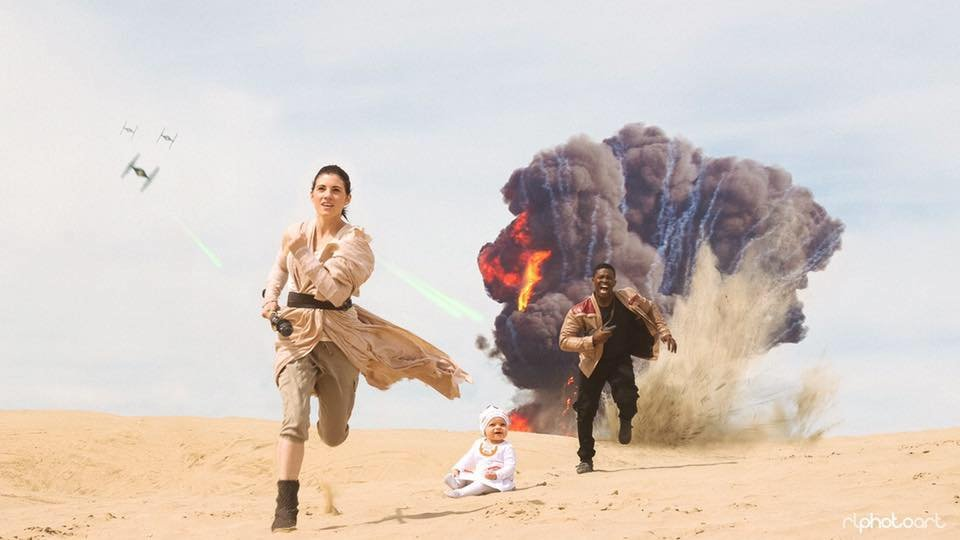This couple did a photoshoot as Rey and Finn from Star Wars and it was so badass