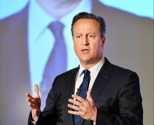 Prime Minister David Cameron speaking at the Conservative party's spring forum in central London. PRESS ASSOCIATION Photo. Picture date: Saturday April 9, 2016. See PA story POLITICS Tories. Photo credit should read: John Stillwell/PA Wire