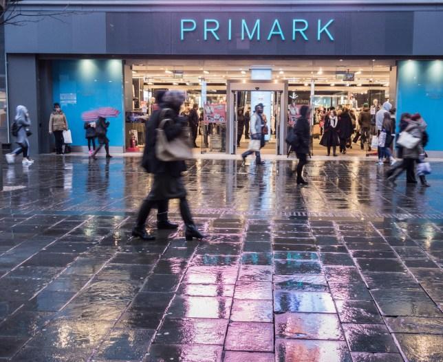 FK373C Primark store on Northumberland street, Newcastle upon Tyne, England. UK
