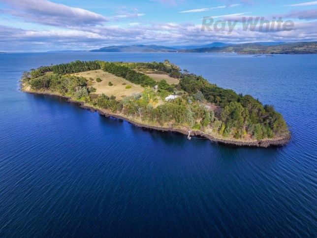 Island for sale Slice of remote Huon Island off the coast of Tasmania hits the market - but you will only have three neighbours