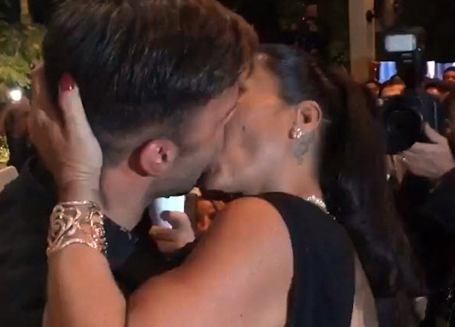 Pic shows: Ricky Martin kissing Ana Paola Diniz. A female Ricky Martin fan has paid 63,400 GBP to have a passionate kiss with her idol. The kiss was first prize in an auction to raise money for AIDS charities taking place in the city of Sao Paulo, in the southeast Brazilian state of the same name. And although Ricky Martin who is gay had turned up with his new boyfriend, he apparently did not hold back at all in the kiss with dog breeder Ana Paola Diniz, a businesswoman who owns a pet resort who put in the highest bid at the event. Also present were models Naomi Campbell, Kate Moss and fashion designer Marc Jacobs, although it's not recorded if they bid in the auction for the kiss. The singer's new boyfriend is Syrian born painter Jwan Yosef who was raised in Sweden, and is based in London. The pair walked down the red carpet together for the event organised by the Foundation for AIDS Research. Ricky Martin became a trending topic once the video went viral, showing that the businesswoman got her 90,000 USD worth of kiss. The Foundation for AIDS Research (amfAR) is an international nonprofit organization dedicated to the support of AIDS research, HIV prevention, treatment education, and the advocacy of AIDS-related public policy. (ends)