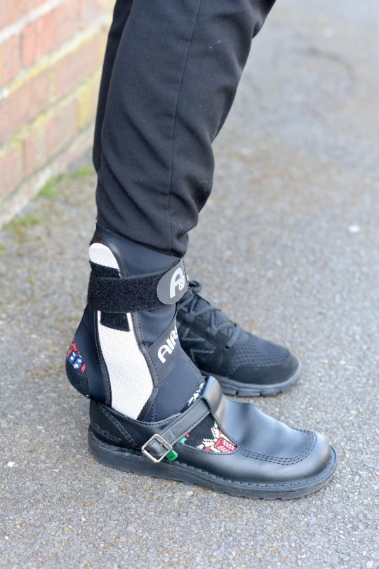 Harris Academy Falconwood tells pupil with injured foot she