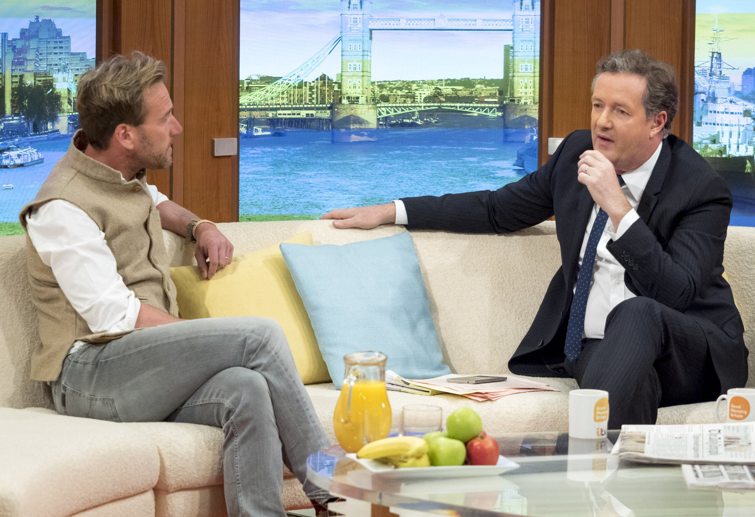Good Morning Britain viewers back Piers Morgan as he confronts Ben Fogle in heated trophy hunting debate
