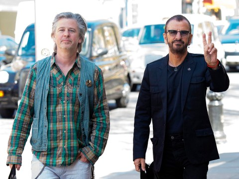 The Beatles' Ringo Starr, 75, looks younger than his 48-year-old son