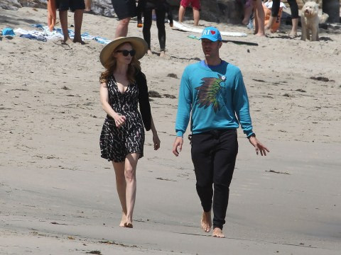 Are Chris Martin and Heather Graham dating?
