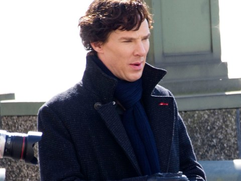 Sherlock's back in town as Benedict Cumberbatch and co film series four outside MI5