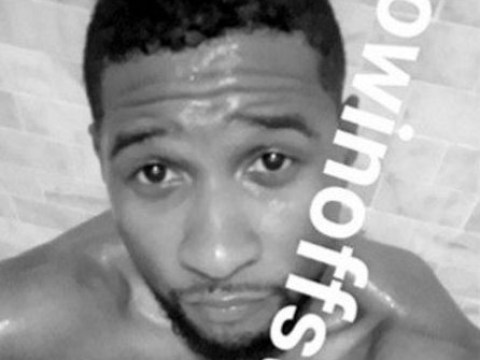 Usher has taken on The Game in yet another dick pic battle