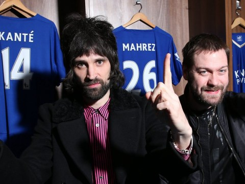 Kasabian are throwing a 'party for everybody' to celebrate Leicester City's Premier League success