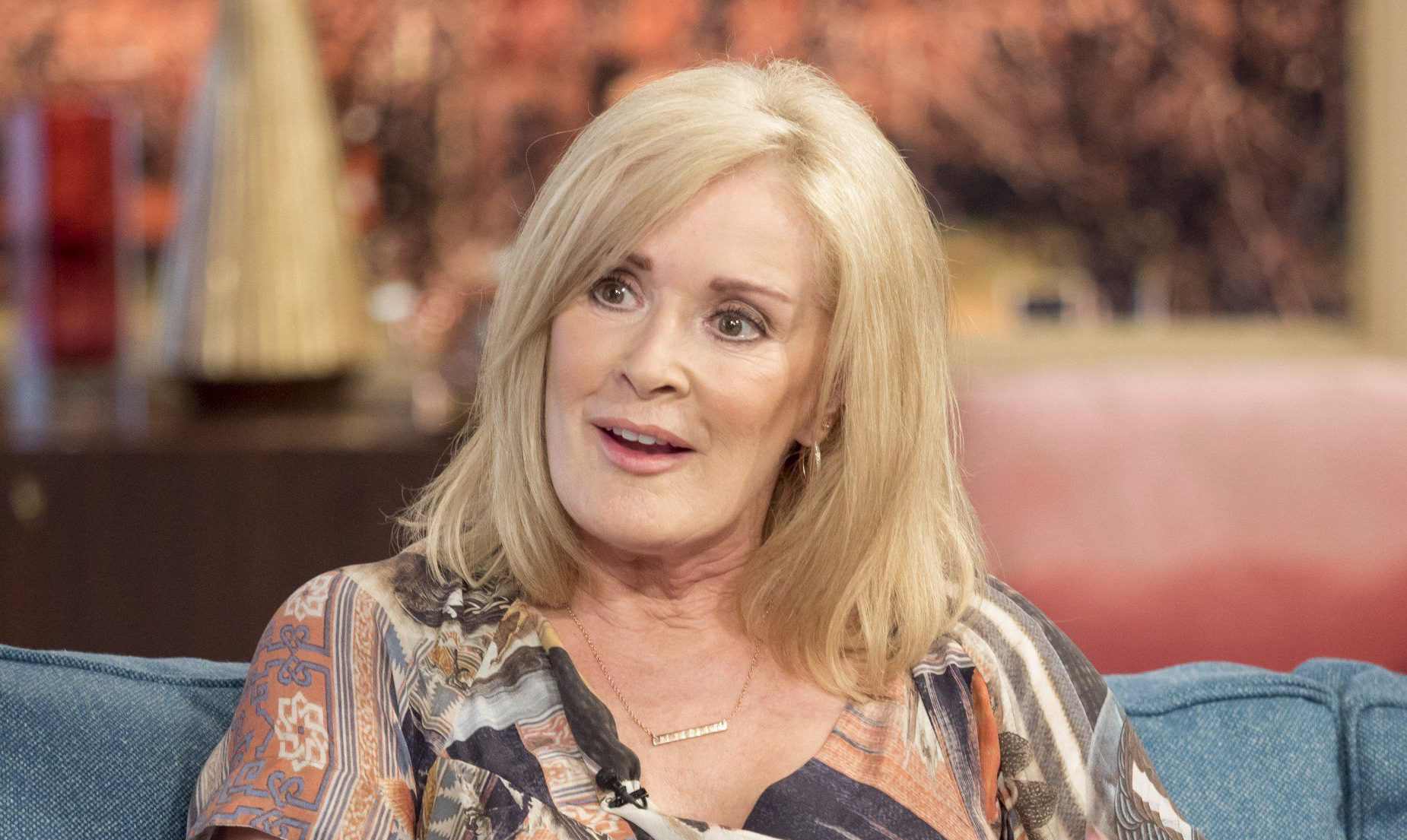 EDITORIAL USE ONLY. NO MERCHANDISING.nMandatory Credit: Photo by Ken McKay/ITV/REX/Shutterstock (5623965bo)nBeverley Callardn'This Morning' TV show, London, Britain - 06 Apr 2016nBeverley Callard is best loved as iconic barmaid Liz McDonald on Coronation Street. But behind the scenes Beverley has, battled severe and often debilitating depression. Most recently Beverley hit the headlines after being signed off sick from the soap when she suffered an emotional breakdown on set. We're please to say she is now on the road to recovery.n
