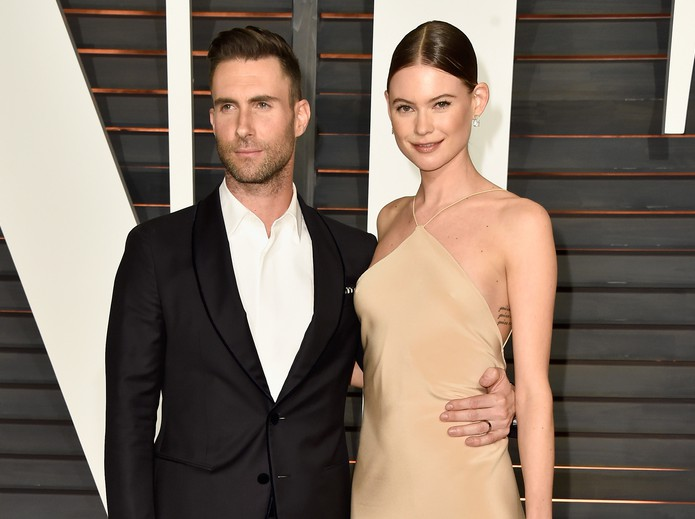 Maroon 5's Adam Levine and wife Behati Prinsloo welcome second daughter