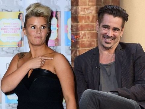 Kerry Katona claims Colin Farrell once tried to chat her up
