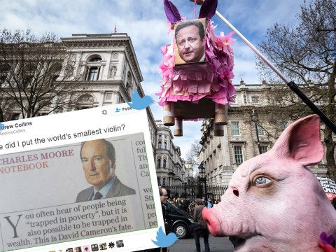 People mock columnist who said Cameron is 'trapped in wealth'