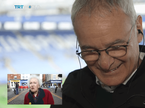 Leicester City supporters thank Claudio Ranieri for magical season