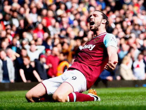 West Ham striker Andy Carroll still aiming to force his way into England's Euro 2016 squad