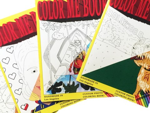 This company will turn your selfies into a colouring book