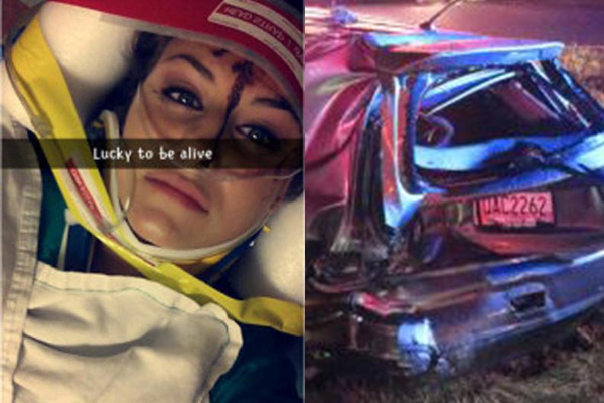 Snapchat speed filter selfie 'led to 107 mph crash'