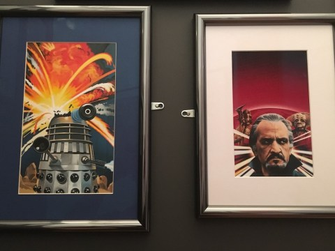 Review: Doctor Who – The Target Book Artwork exhibition at London's Cartoon Museum
