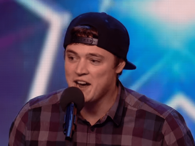 Impressionist Craig Ball performs on Britain's Got Talent (Picture: ITV)