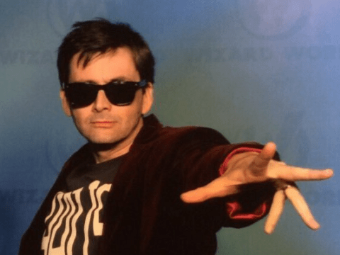 David Tennant cosplayed as Peter Capaldi and Doctor Who fans lost it