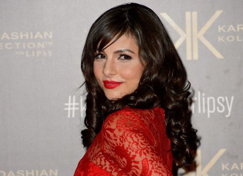 Actress Roxanne Pallett attends the launch party for the Kardashian Kollection for Lipsy at Natural History Museum on November 14, 2013 in London, England. LONDON, ENGLAND - NOVEMBER 14: (Photo by Ben A. Pruchnie/Getty Images)