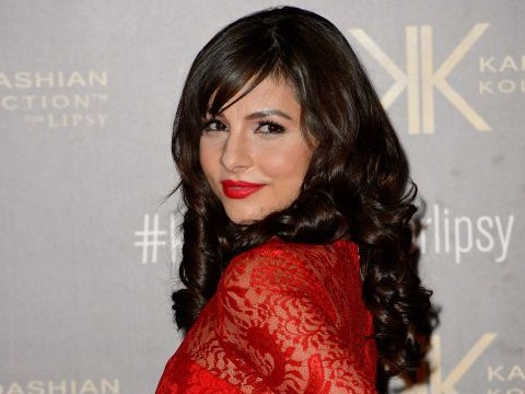 Roxanne Pallett looked an absolute bloody mess on the set of her new film