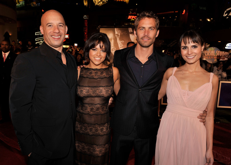 Michelle Rodriguez's comments about being 'jealous' Paul Walker died first were taken 'out of context'