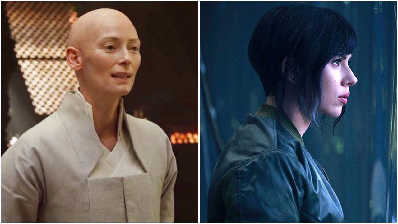 Why have Tilda Swinton and Scarlett Johansson been cast as Asian characters? Film fans voice their disapproval on Twitter