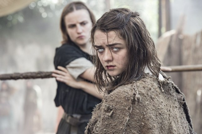 Arya has gone blind! (Picture: HBO)