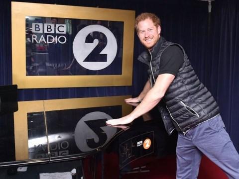 Prince Harry just swore live on Chris Evans' BBC Radio 2 show