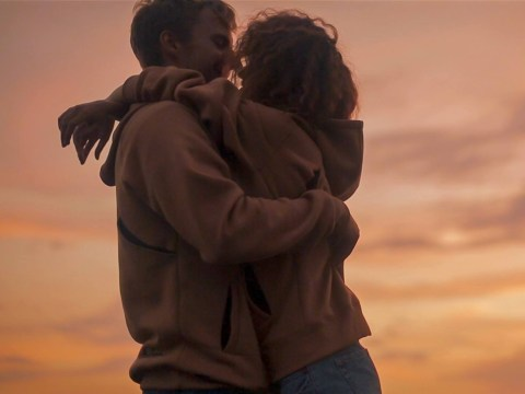 This hoodie is made for hugging, because couples truly are the worst