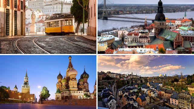 12 unusual European city breaks to book instead of Paris or Amsterdam