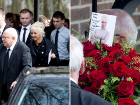 Paul Daniels funeral: Debbie McGee's picture and heartfelt message take centre stage on the magician's coffin