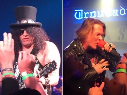 WATCH: Guns N' Roses and Axl Rose play together for first time in 23 years