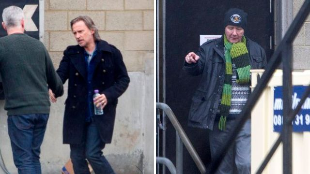 Production on Trainspotting 2 is underway! Robert Carlyle arrives in Scotland to meet cast and crew
