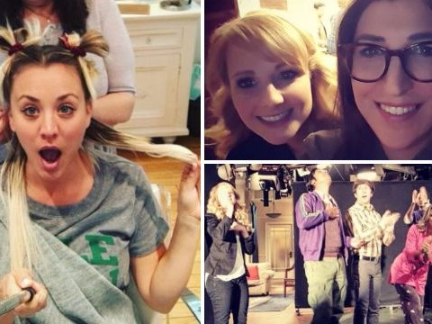 Kaley Cuoco ditches Penny to 'bring it back to Kaley' as Big Bang Theory wraps filming