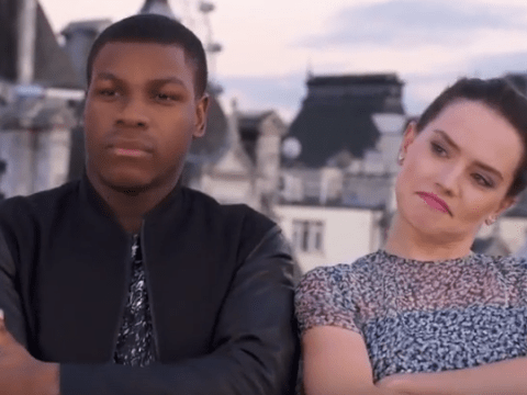 WATCH: John Boyega and Daisy Ridley rap about Star Wars in the cutest video you'll see today