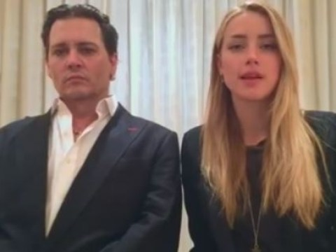 Amber Heard and Johnny Depp's dog apology video is pretty weird