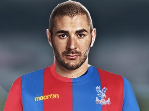 Crystal Palace accidentally name Karim Benzema on the bench at Arsenal