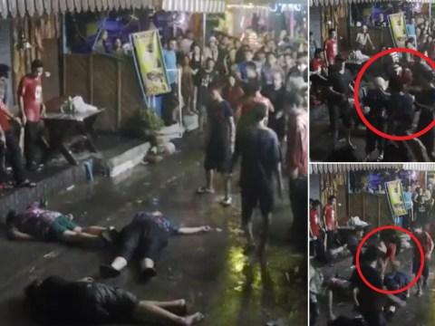 Elderly British couple and son beaten unconscious in Thai resort attack