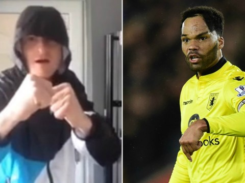 Aston Villa fan hilariously challenges Joleon Lescott to a fight