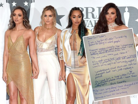This eight-year-old's letter to Little Mix telling them off for swearing is EVERYTHING!